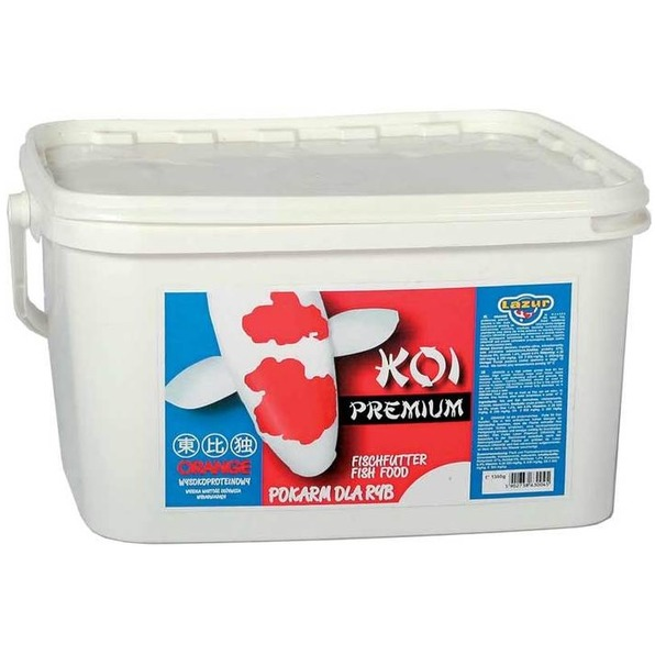 KOI Premium orange - 5 L , 3mm, 47% proteín