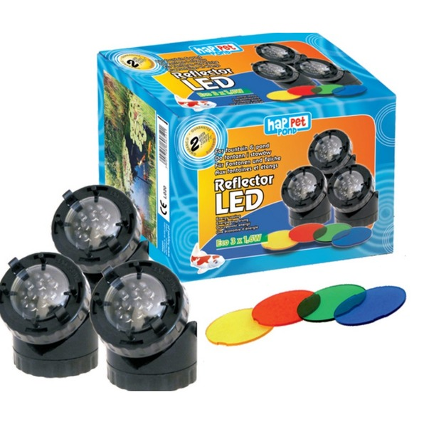 LED svetlomet 3 ks
